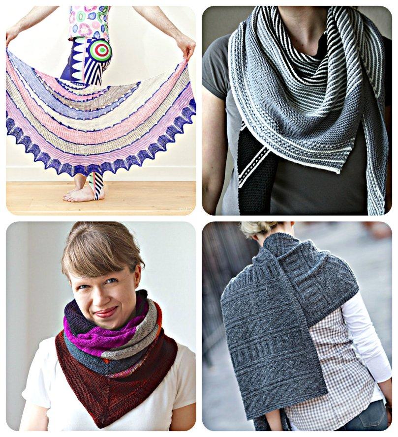 shawl collage
